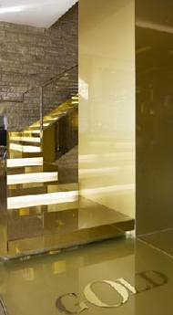 GOLD stair